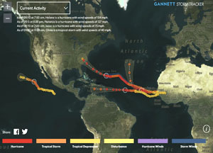 Interactive Storm Tracker